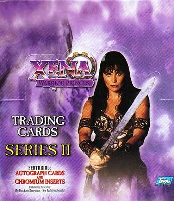 Xena Sealed Trading Card Box - Series 2 - Chromes & Autograph Cards