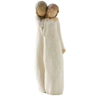 Willow Tree  Chrysalis Figurine Mother & Daughter 26153 in Branded Gift Box
