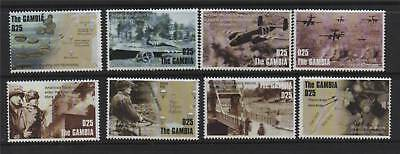 Gambia 2004 Anniv Of D-Day SG (Stamps from) MS4663 MNH