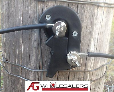 3 x CUT OUT ON OFF SWITCH FOR ELECTRIC FENCE WIRE ENERGISER