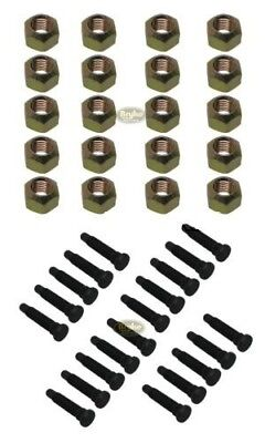 5/8 EXTRA LONG Wheel Stud Lug nut kit Racing Lugnuts Studs IMCA USMTS Coarse