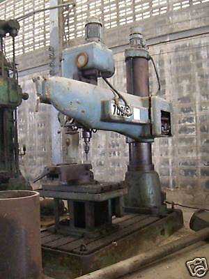 *Radial Drill* Mossier, Press Drill Table 2 x 0.8m