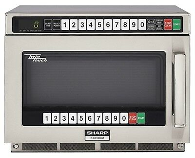 Commercial Microwave Oven Sharp R-CD1200M 1200 watts