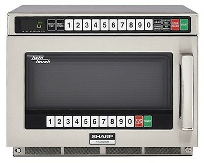 Commercial Microwave Oven Sharp R-CD2200M 2200 watts