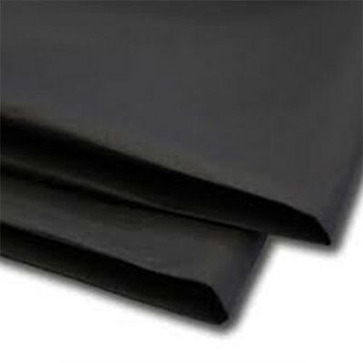 50 Sheets Black Tissue Paper 500x750 Acid Free
