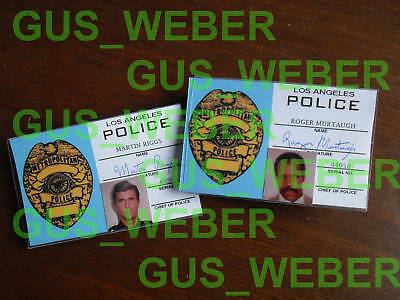 Lethal Weapon badge IDs prop set and more