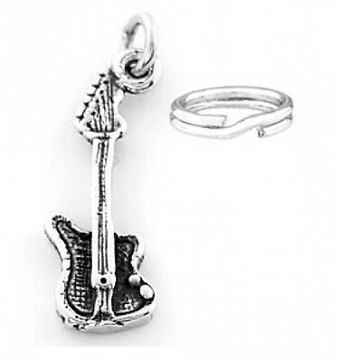 47f44a4e0 STERLING SILVER ELECTRIC Guitar Ring - adjustable wrap - $49.99 ...