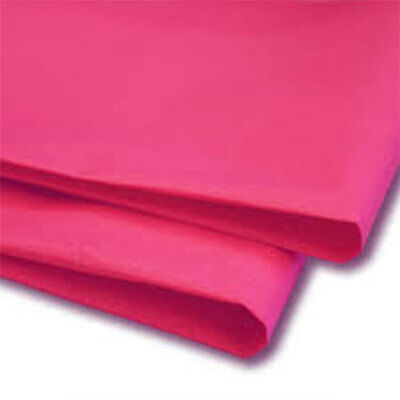 50 Sheets Cerise (Pink) Tissue Paper 500x750 Acid Free