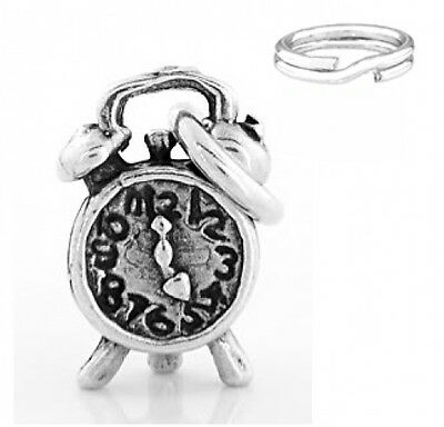 """STERLING SILVER /""""WATER SKIS/"""" CHARM WITH SPLIT RING"""