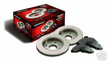 Rover Mgf Mg-Tf 1995-2005 Mintex  Brake Discs Mintex Brake Pads Front Rear