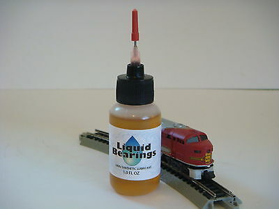 Liquid Bearings, ABSOLUTE BEST 100%-synthetic oil for Atlas and all trains