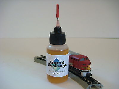 Liquid Bearings, BEST 100%-synthetic oil for Marklin and all trains , READ!!!
