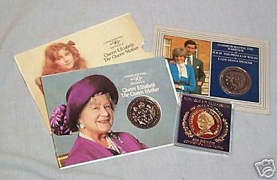 Two Queen Mother & A Charles + Diana Items