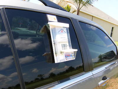 Outdoor Brochure & Card Holders for Realtor Signs Cars
