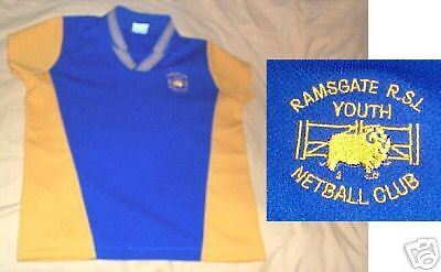 #bb. Ramsgate Rsl Youth Netball Club Top