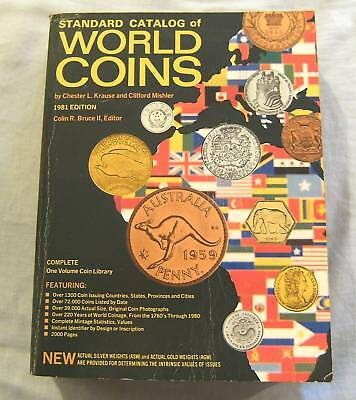 #ww. 1981 Edition - Kraus Catalogue Of World Coins