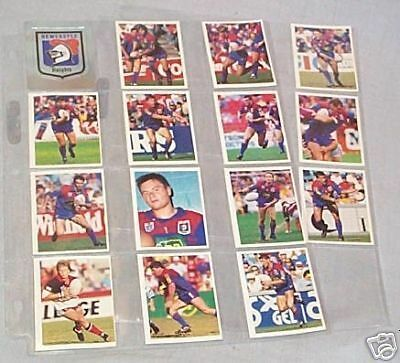1993 Rugby League Stickers - Newcastle Knights