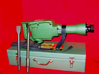 Electric Demolition Jack Hammer W/ Punch & Chisel Tools