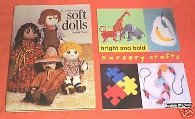 #FF. TWO BOOKS - SOFT DOLLS and NURSERY CRAFTS