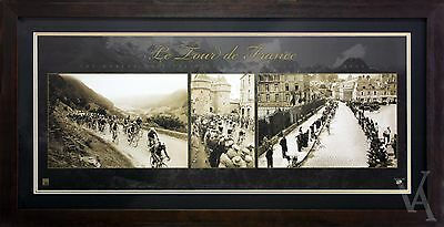 Cycling Photos Le Tour De France Framed Limited Edition