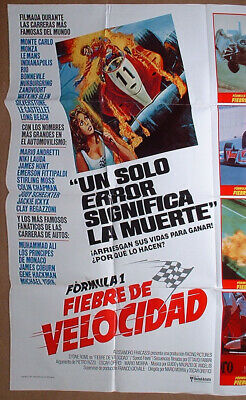 SPEED FEVER Formula One movie poster 1978