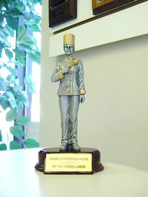 Chef Bake-Off Sculpture Award Trophy Cook Off Cooking