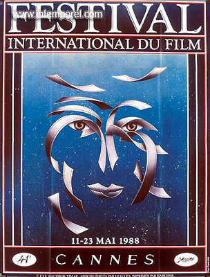 Affiche Cannes 1988