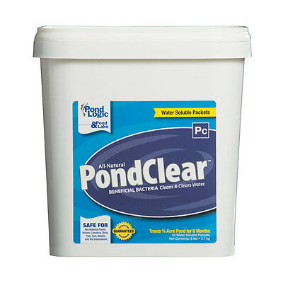 Pond-Clear Dry (24 Packets) Beneficial Bacteria-water-algae-sludge-control