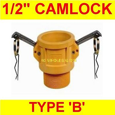 "Camlock Nylon Type B 1/2"" Cam Lock Irrigation Fitting"