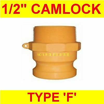 "Camlock Nylon Type F 1/2"" Cam Lock Irrigation Fitting"
