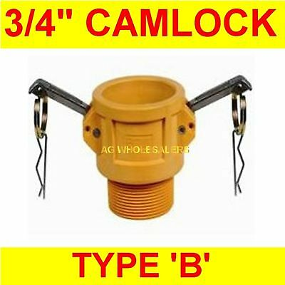 "Camlock Nylon Type B 3/4"" Cam Lock Irrigation Fitting"