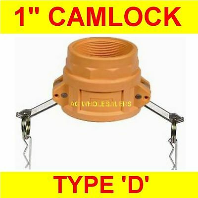 "Camlock Nylon Type D 1"" Cam Lock Irrigation Fitting"