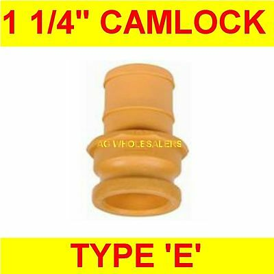 "Camlock Nylon Type E 1 1/4"" Cam Lock Irrigation Fitting"
