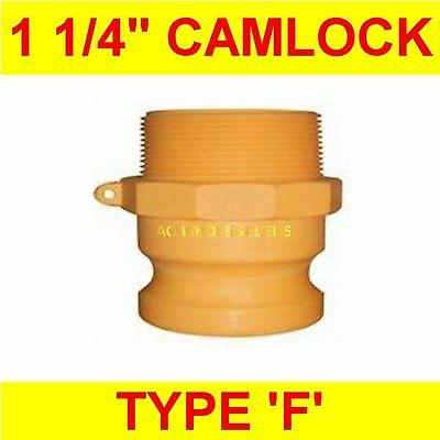 "Camlock Nylon Type F 1 1/4"" Cam Lock Irrigation Fitting"