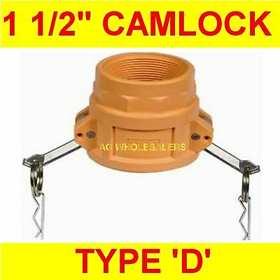 "Camlock Nylon Type D 1 1/2"" Cam Lock Irrigation Fitting"