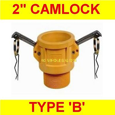 "Camlock Nylon Type B 2"" Cam Lock Irrigation Fitting"