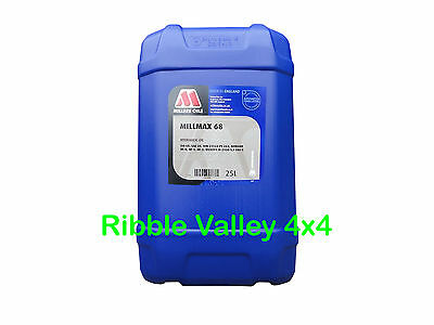 Millers Millmax 68 Top Qualty Hydraulic Oil 25 Litres