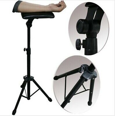 Tattoo Adjustable Height Black Arm Rest Stand  NEW!!
