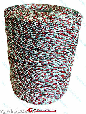 Poly Wire 200M Premium 9 Strand Electric Fence Polywire