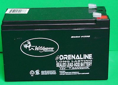 Wildgame Innovations 12 Volt Rechargeable Battery New