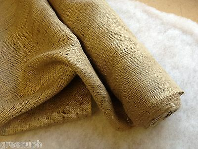 "10oz HESSIAN, 72"" WIDE,   RAG RUG HESSIAN, UPHOLSTERY"