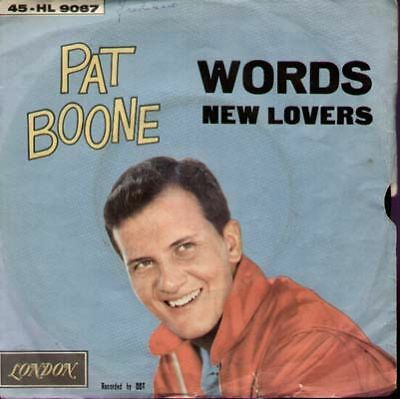 Boone Pat - Words/Newe lovers