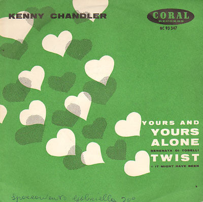 Chandler Kenny - Your and yours alone /Twist