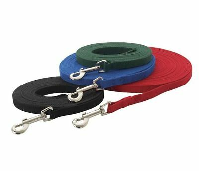 Dog Training Lead Leash 6, 15, 20, 30 or 50 ft obedience recall lunge foot feet