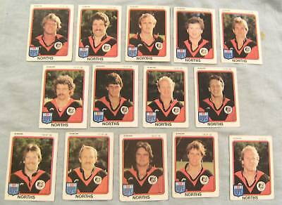 1981 Rugby League Cards - North Sydney Bears