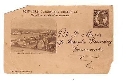 Postcard  For Colonial Forces Muster - Toowoomba, Qld
