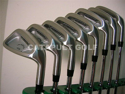 "limited edition NEW MENS RH +1"" TALL IRON SET GOLF CLUBS LONG GULF extra long r"