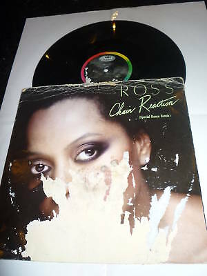 """DIANA ROSS - Chain Reaction - 1985 UK 3-track 12"""""""