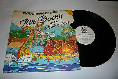 "JIVE BUNNY & THE MASTERMIXERS - Thats What I Like - 12"" Vinyl Single"