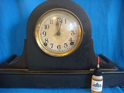 Liquid Bearings, THE BEST 100%-synthetic oil for Mantle clocks, PLEASE READ!!